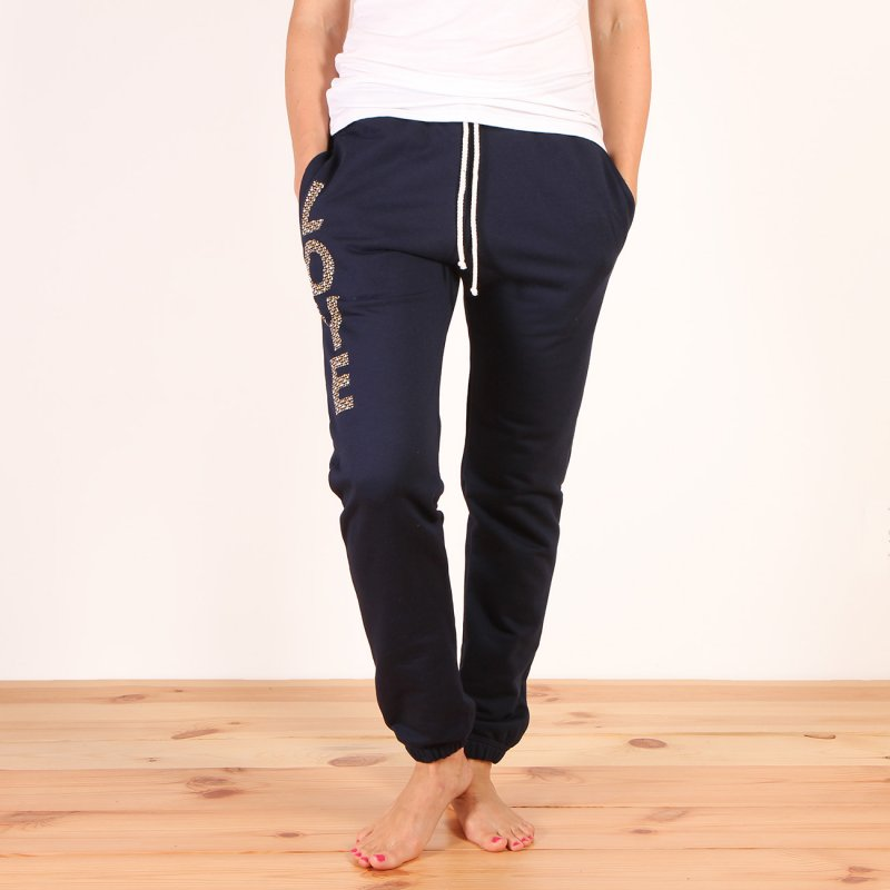Spodnie dresowe Femi Pleasure Costa - Princess Blue