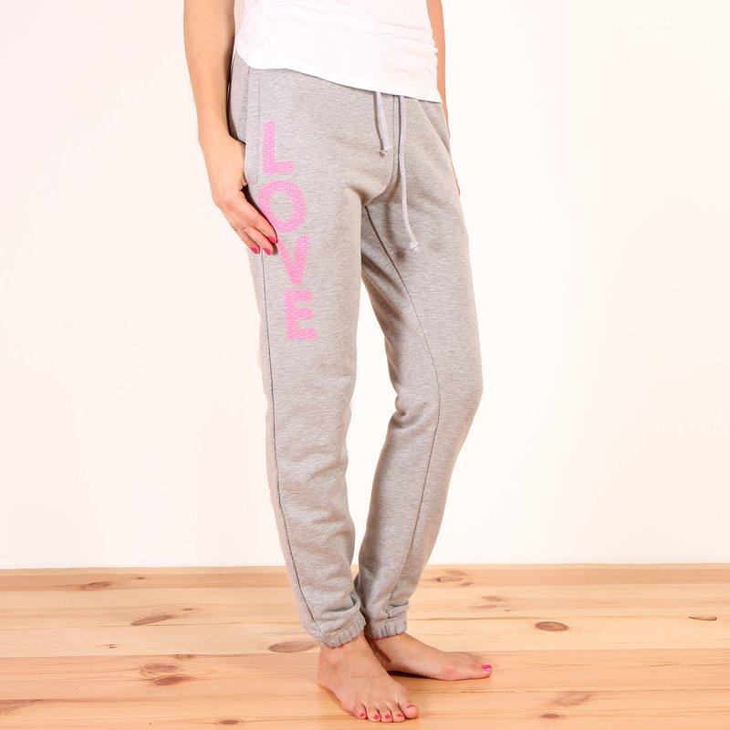 Spodnie dresowe Femi Pleasure Costa - Ash Grey Melange