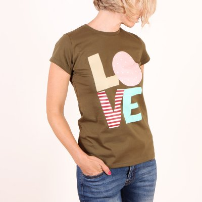 T-shirt Femi Pleasure Stella - Forest Green