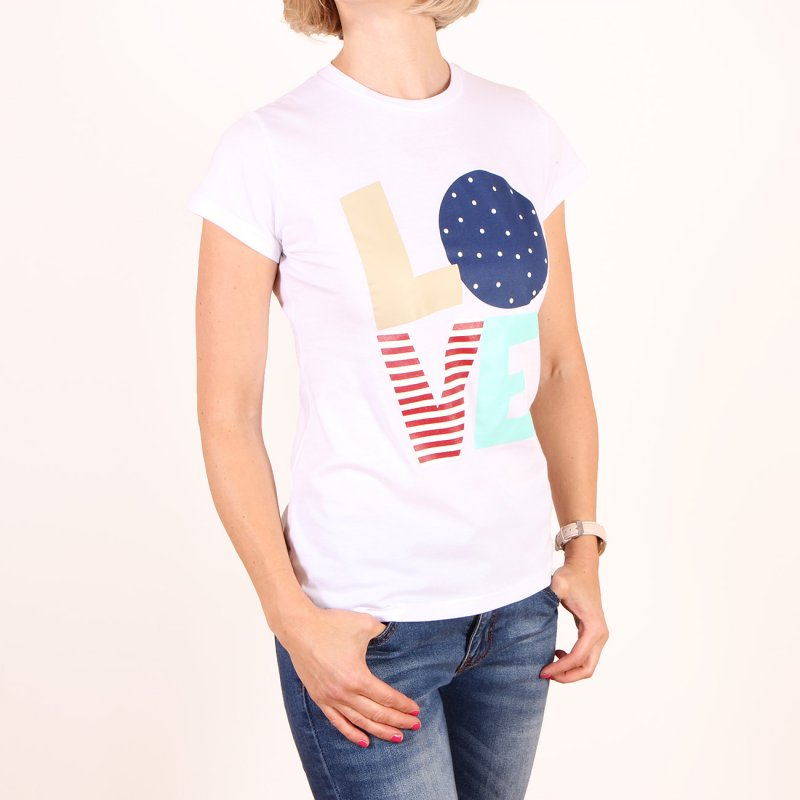 T-shirt Femi Pleasure Stella - Bright White
