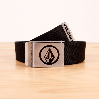 Pasek do spodni Volcom Circle Web Belt - Black