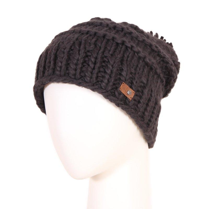 b44cc5d58e8dee Damska ciepła czarna czapka zimowa z pomponem Roxy Winter Beanie