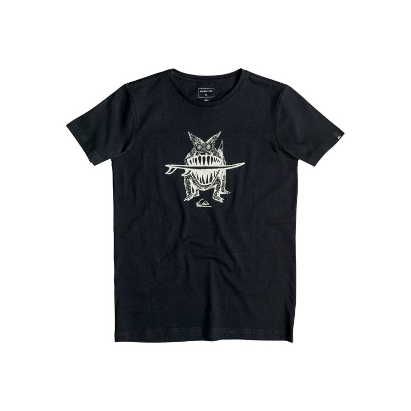 T-shirt Quiksilver PM Tee Youth Brun S Dogi - Black