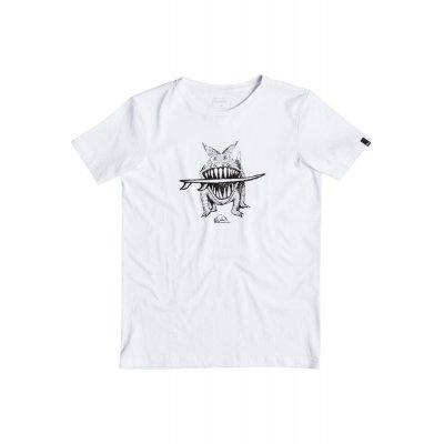 T-shirt Quiksilver PM Tee Youth Brun S Dogi - White