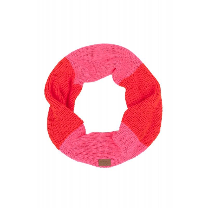 Komin zimowy Femi Pleasure Dani - Pink Fluo