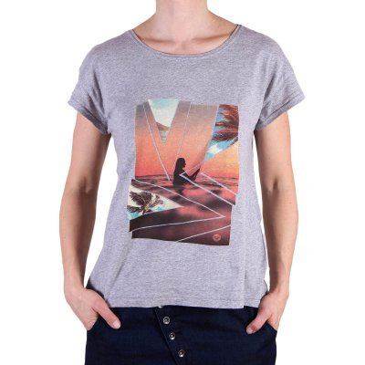 T-shirt Roxy New Crew - Heritage Heather
