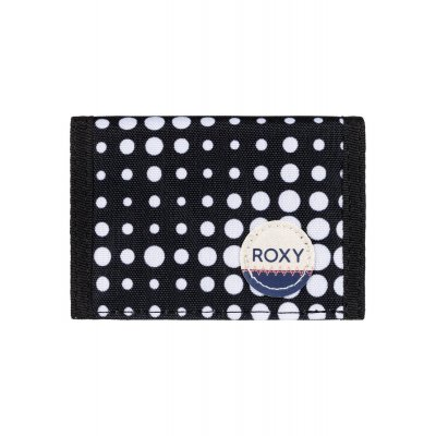 Portfel Roxy Small Beach - Anthracite Opticity