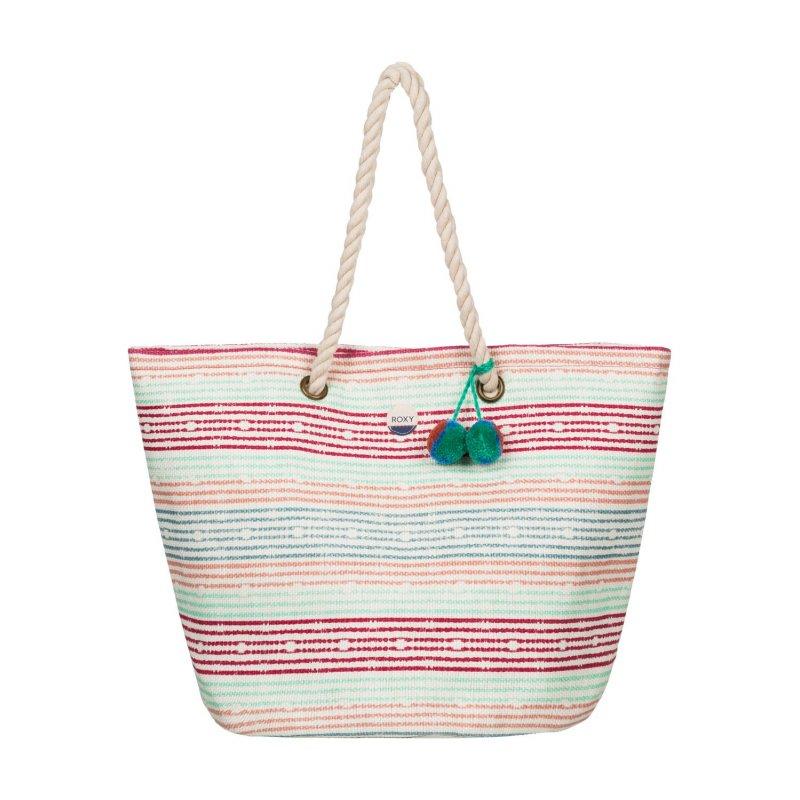 Torba Roxy Sun Seeker - Olmeque Stripe Combo Marshmallow