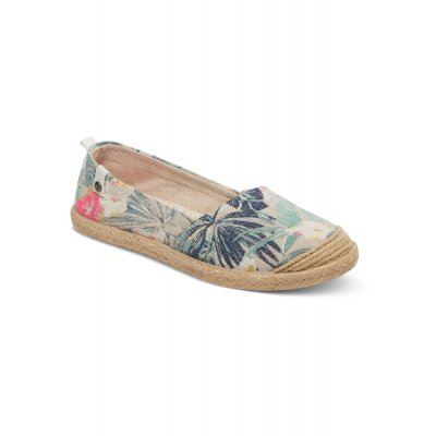 Buty Roxy Espadryle RG Flamenco - Natural/Crazy Pink