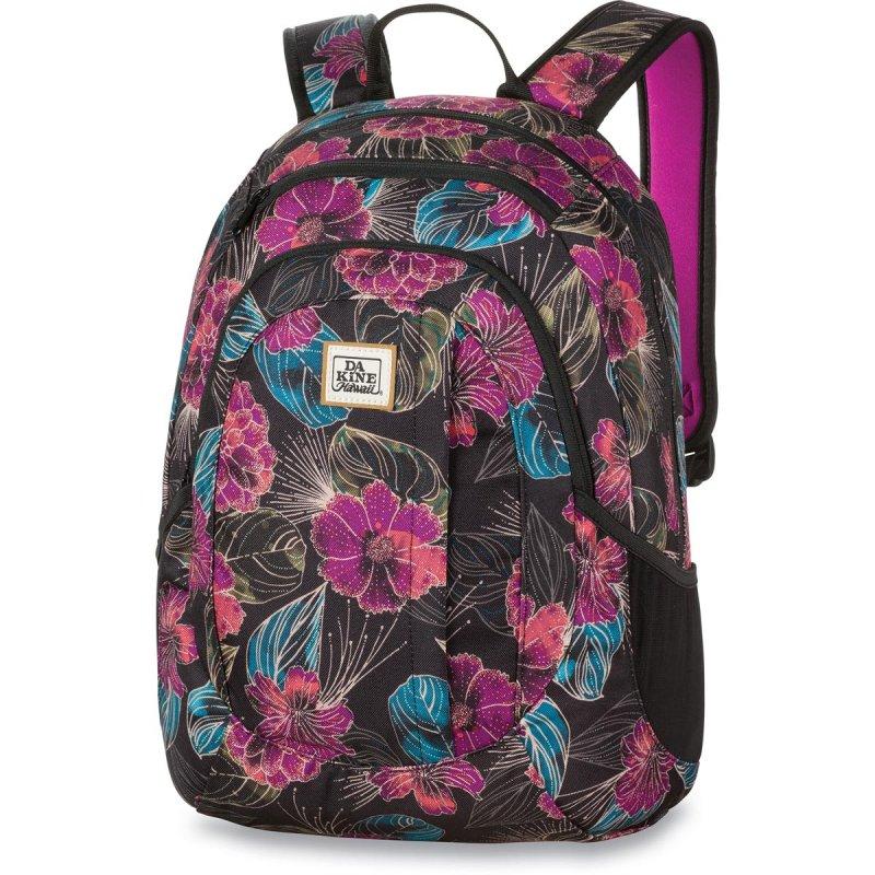 f0d6a33a87a18 Plecak damski szkolny w kwiaty Dakine Garden Pualani 20L