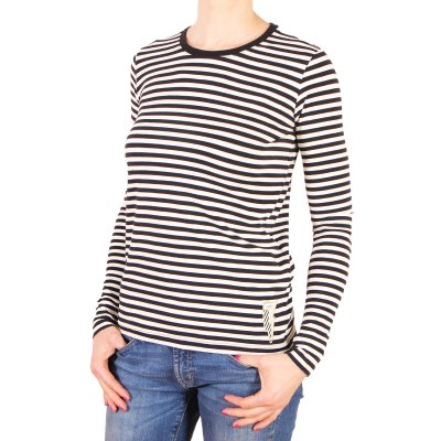 Longsleeve Femi Pleasure Lonly - Black and White Stripes