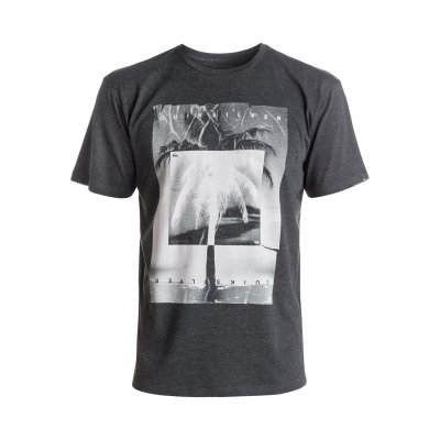 T-shirt Quiksilver Heather Tee Inverted - Charcoal Heather