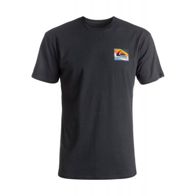 T-shirt Quiksilver Classic Tee Box Knife - Black
