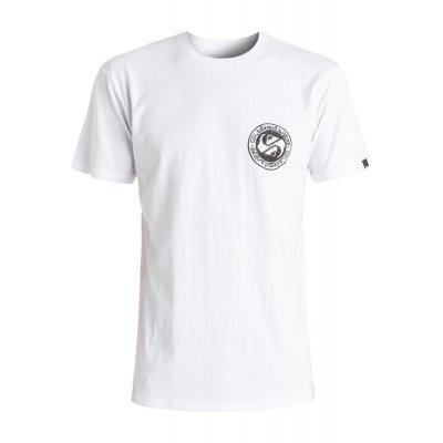 T-shirt Quiksilver Classic Tee Balanced 69 - White