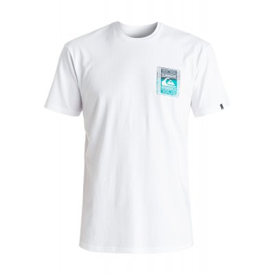T-shirt Quiksilver Classic Tee Walled Up - White