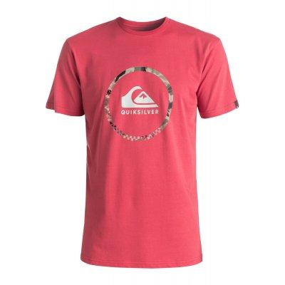 T-shirt Quiksilver Classic Tee Active Logo 3.0 - Cardinal