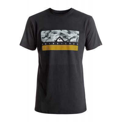 T-shirt Quiksilver Classic Tee Jungle Box - Black