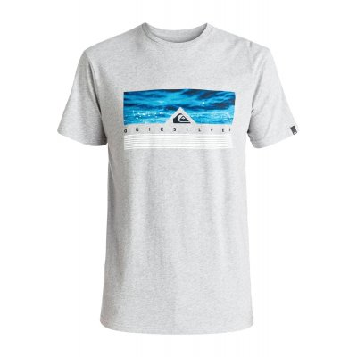 T-shirt Quiksilver Classic Tee Jungle Box - Athletic Heather