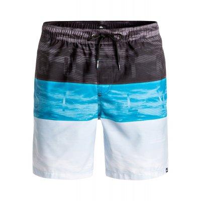 Boardshorty Quiksilver Word Waves Volley 17 - Blue Danube