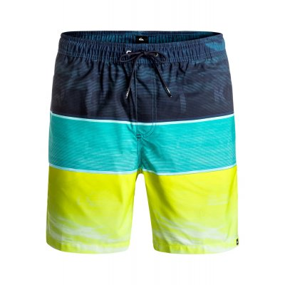 Boardshorty Quiksilver Word Waves Volley 17 - Viridian Green