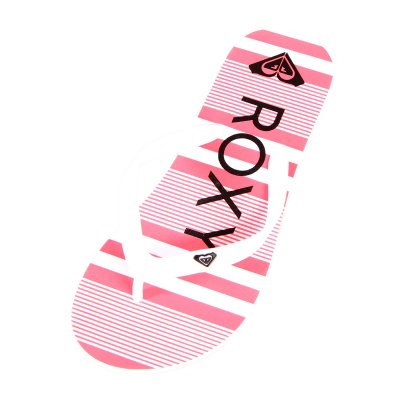 Japonki Roxy RG Tahiti V - White/Black/Red