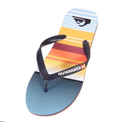 Japonki Quiksilver Molokai Everyday Stripe - Blue/Blue/Orange