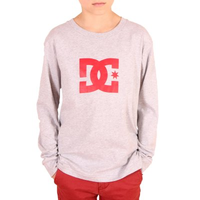 Longsleeve DC Star LS BY - Heather Grey