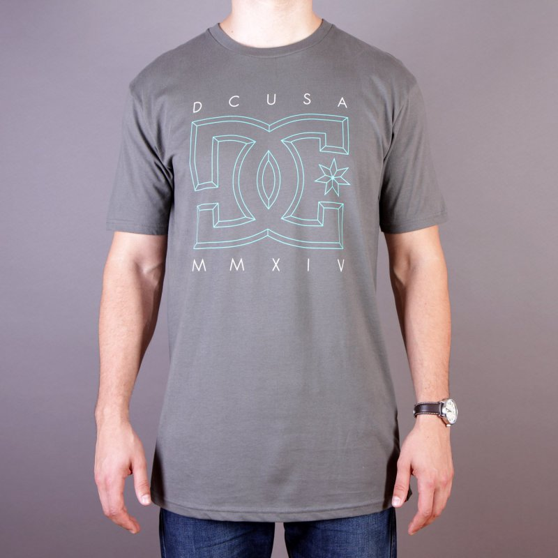 T-shirt DC RD Deluxe Tee - Charcoal