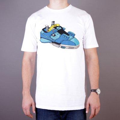 T-shirt DC Ghica Ship 2 SS - White