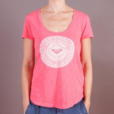 T-shirt Roxy Scoop Tee A - Calypso Coral