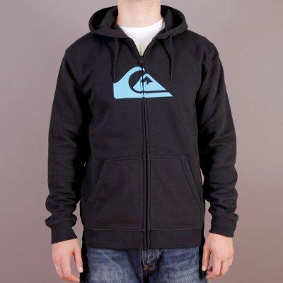 Bluza Quiksilver Hood Zip Good H1 - Black