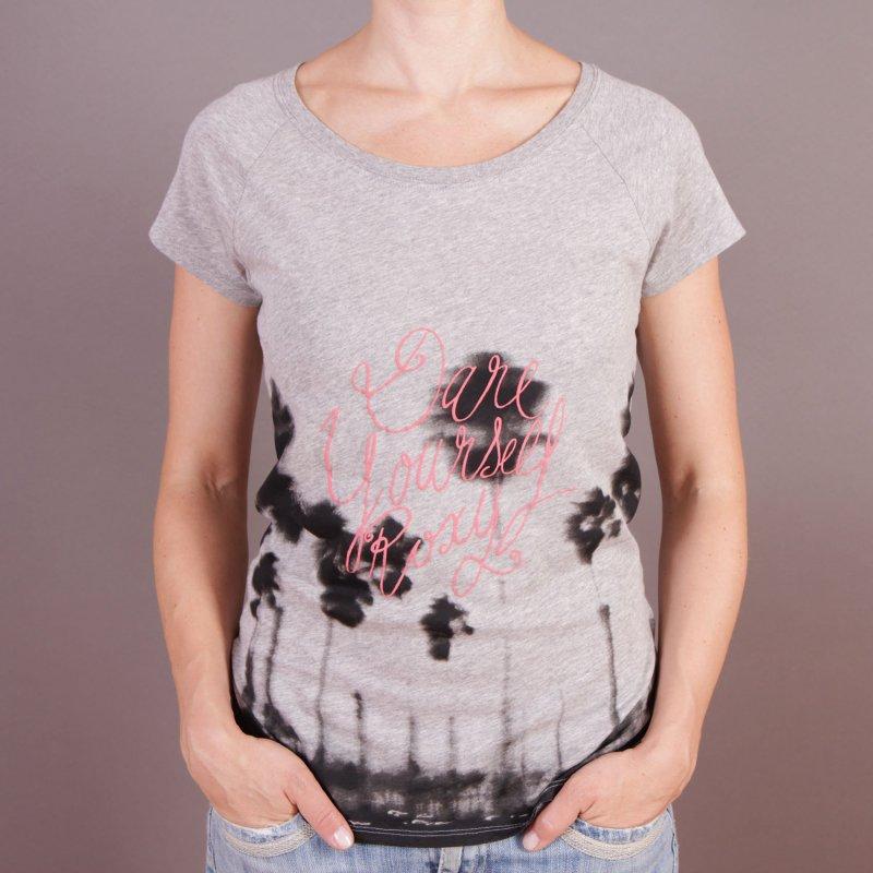 T-shirt Roxy Good Looking - Heather Grey