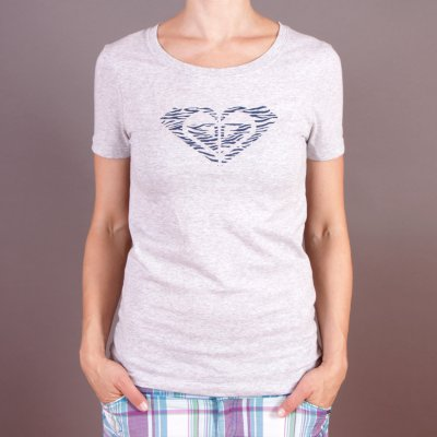 T-shirt Roxy Winter Brights Tee B - Heather Grey