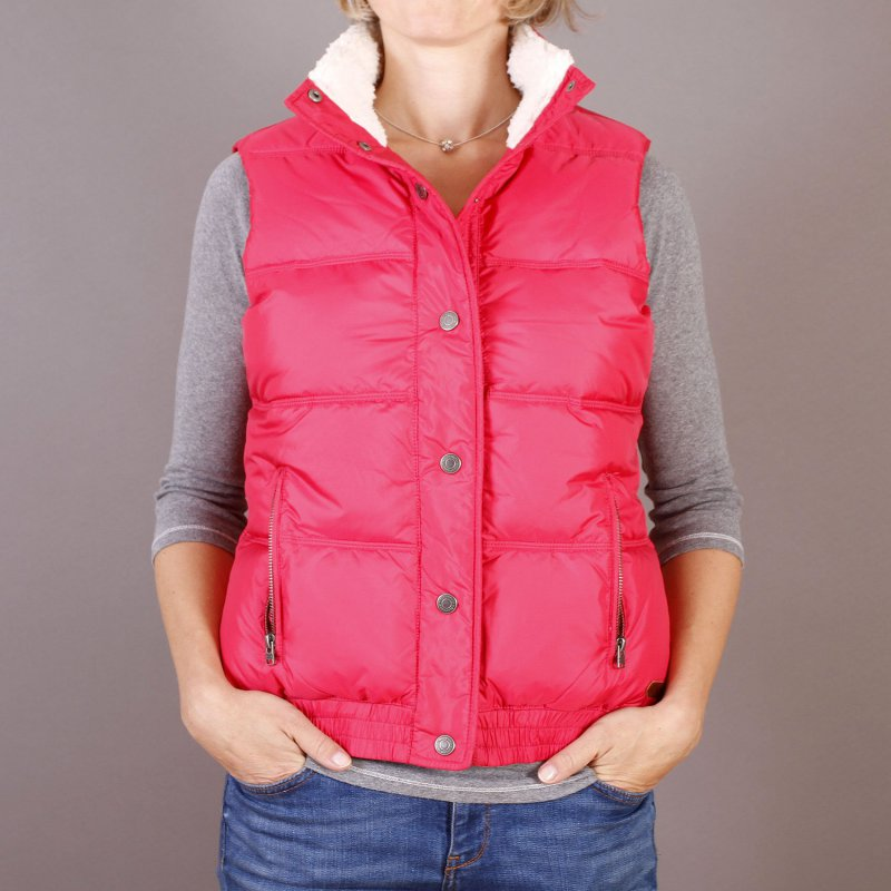 Kamizelka Roxy Explorer Jacket - Rose Red