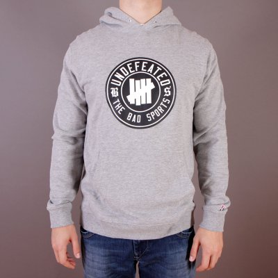 Bluza Undefeated BS Pullover Hoodie - Grey Heather