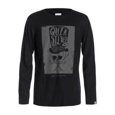 Longsleeve Quiksilver LS QS Tee Youth G10 - Black