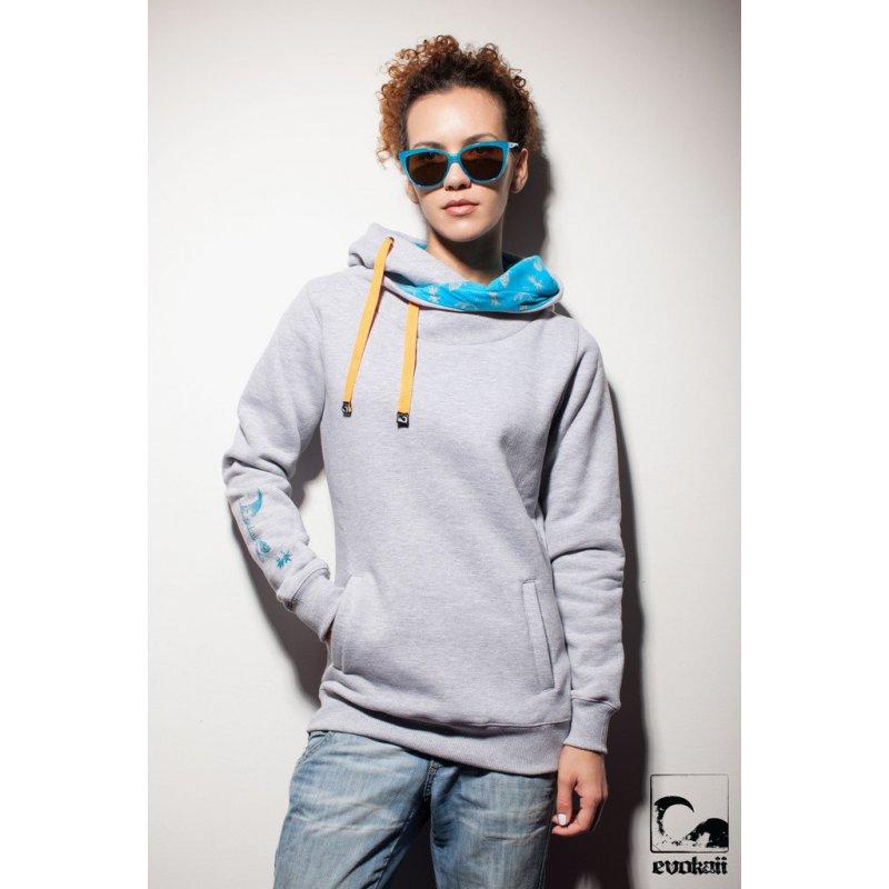 Bluza Evokaii Big Hood - Gray
