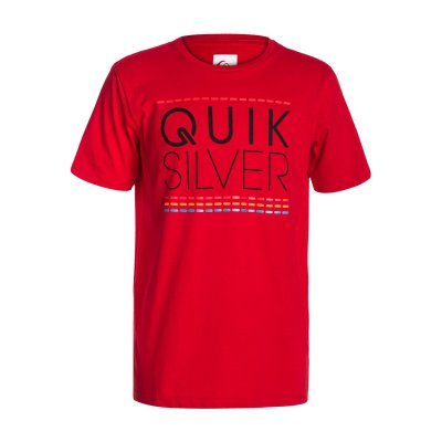T-shirt Quiksilver SS Bright T Youth C13 - Quik Red