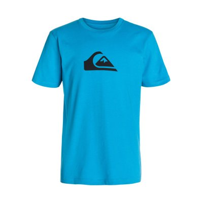 T-shirt Quiksilver SS Logo Bright Yth A5 - Caspian