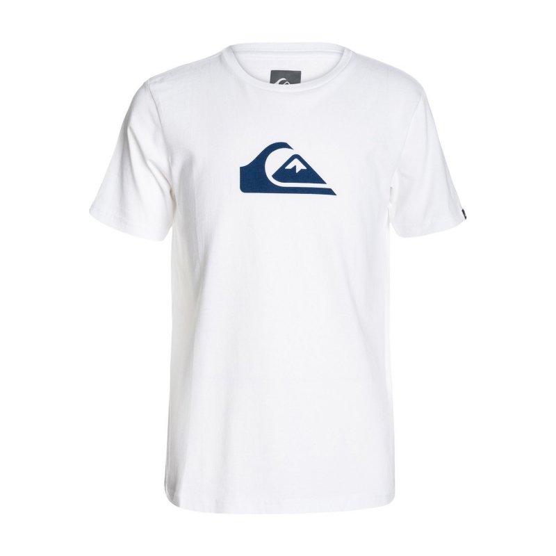 T-shirt Quiksilver SS Logo Bright Yth A5 - White