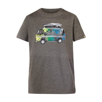 T-shirt Quiksilver SS QS Tee Youth F24 - Medium Grey Heather