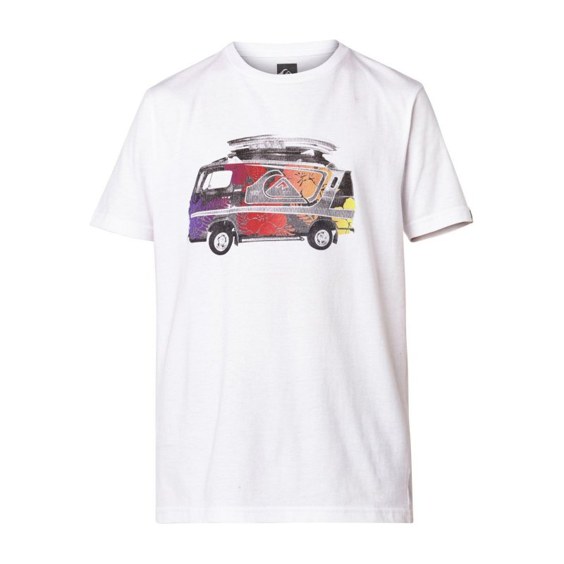T-shirt Quiksilver SS QS Tee Youth F24 - White