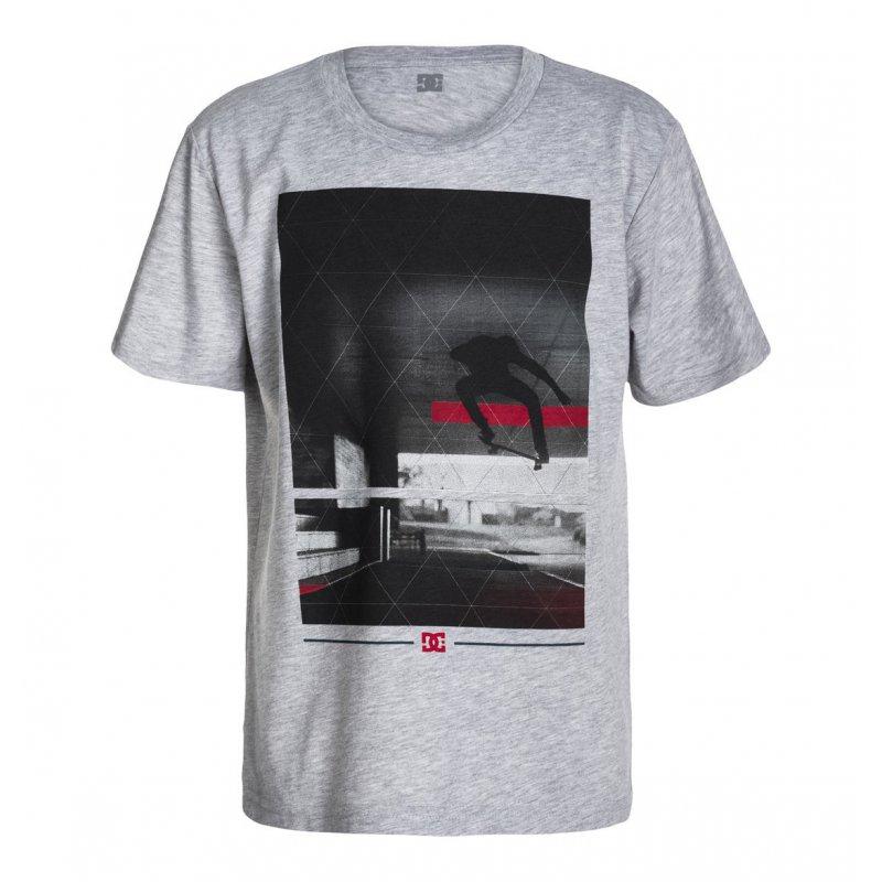 T-shirt DC Transfert SS BY - Heather Grey
