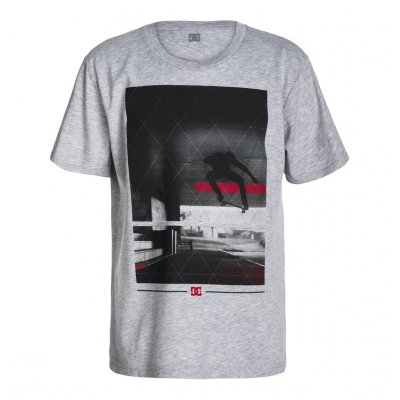 T-shirt DC Transfert SS BY - Heather Grey