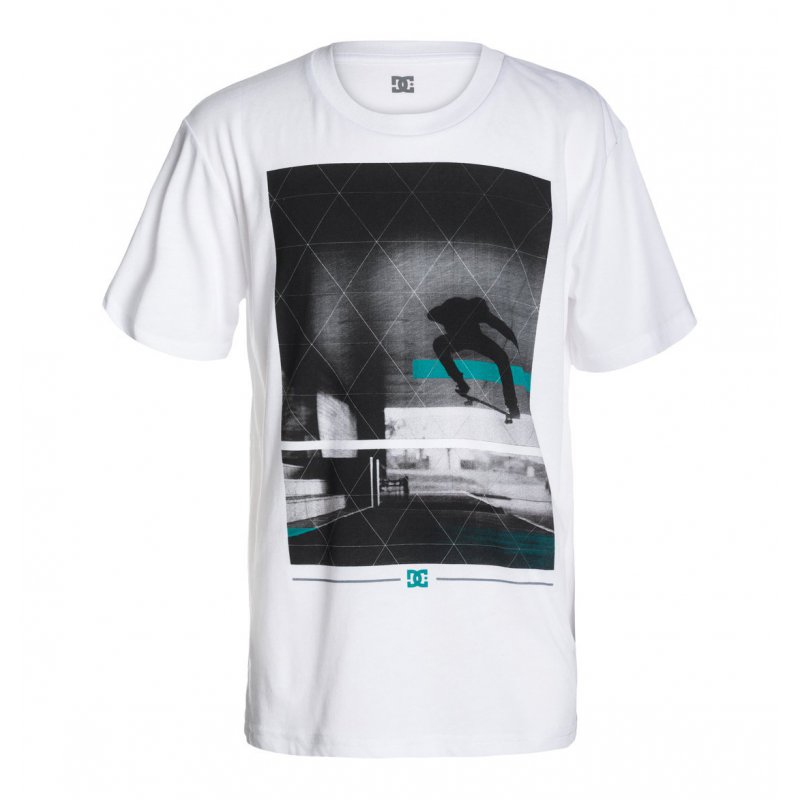 T-shirt DC Transfert SS BY - White