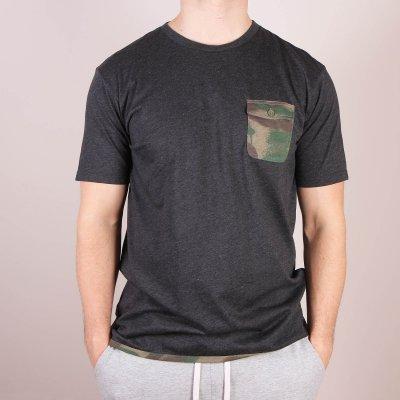 T-shirt DC Spaceport Crew - Black Heather