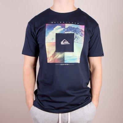 T-shirt Quiksilver Classic Tee Quad - Navy Blazer