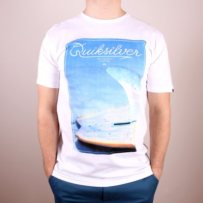 T-shirt Quiksilver Classic Tee Finbox - White