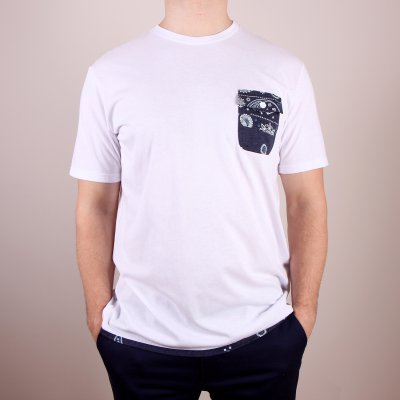 T-shirt DC Spaceport Crew - White