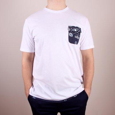 T-shirt DC Spaceport Crew - White